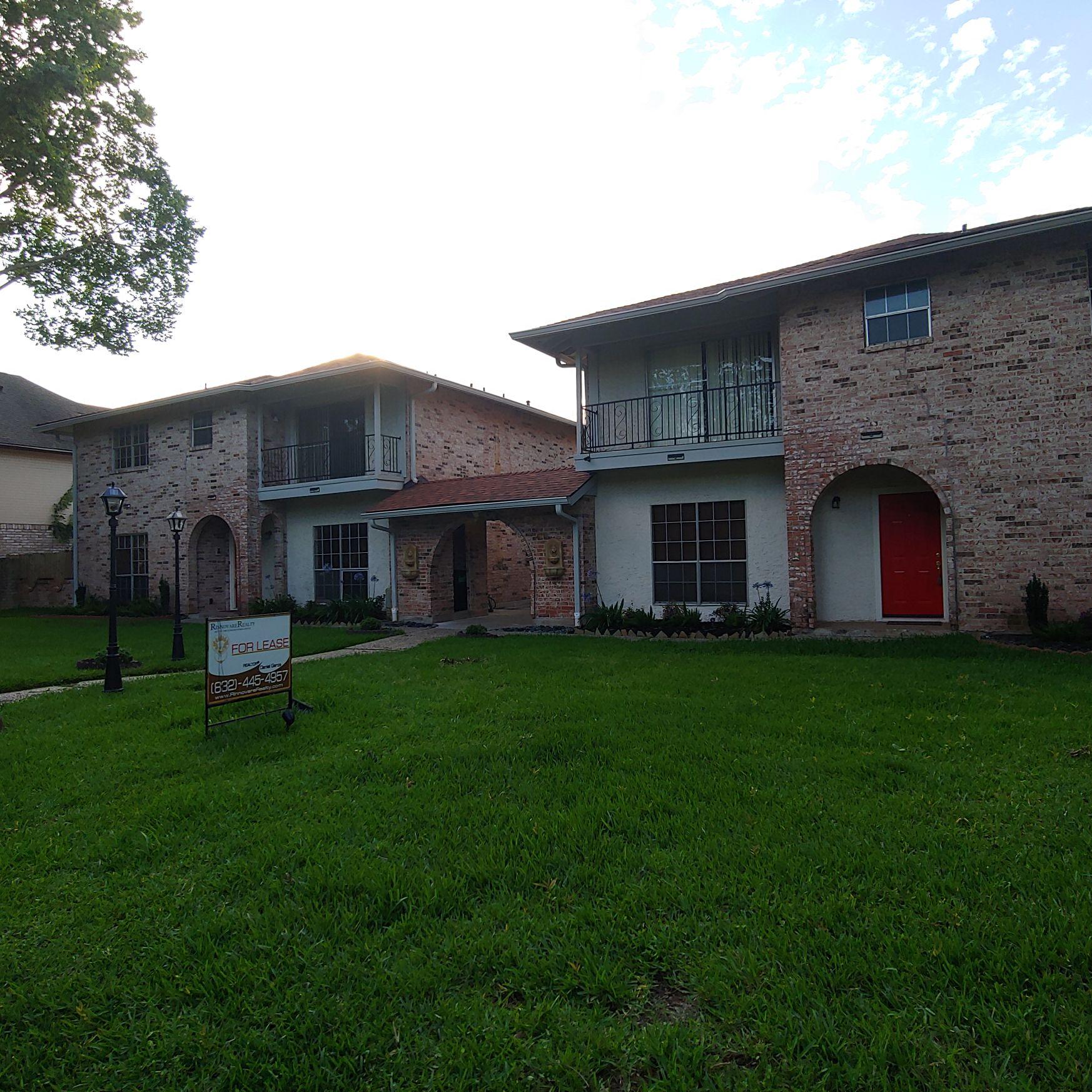 Houston Rental 4710 Cashel Cir Apt. D; Houston, TX 77069